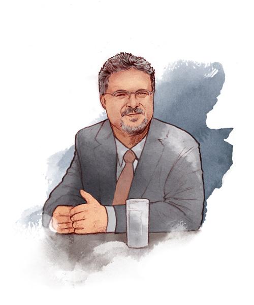 PROFESSOR PETER KNIGHTS Profesor kierujący wydziałem górnictwa w School of Mechanical and Mining Engineering w University of Queensland