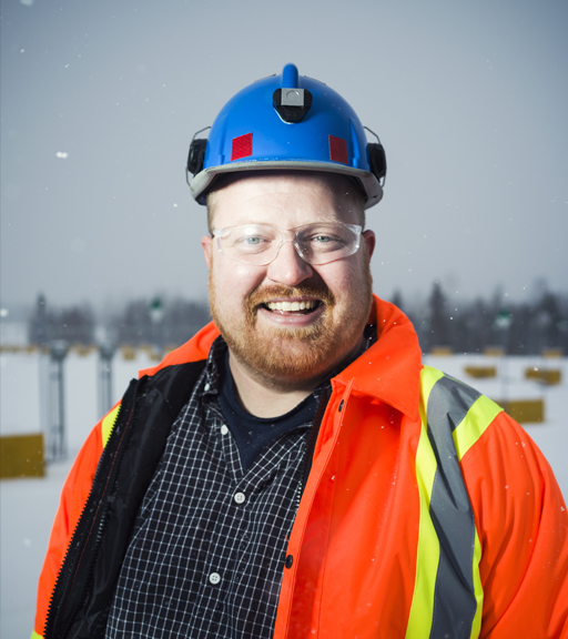 Maarten van Koppen, senior project engineer at Goldcorp.