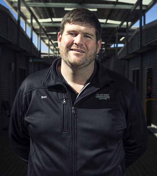 Brett Murray, engineering manager at Glencore's Ulan West coal mine.
