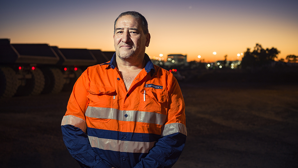 <p>Werner Murach, Barminco project manager at MMG's Dugald River mine.</p>