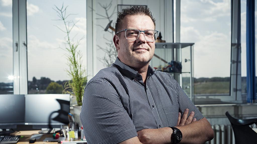 <p>Holger Kohlhauser, head of production preparation at the K+S KALI GmbH Zielitz potash mine.</p>