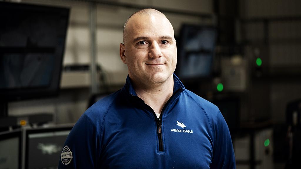 Luc Girard est surintendant opérations minières de LZ5.